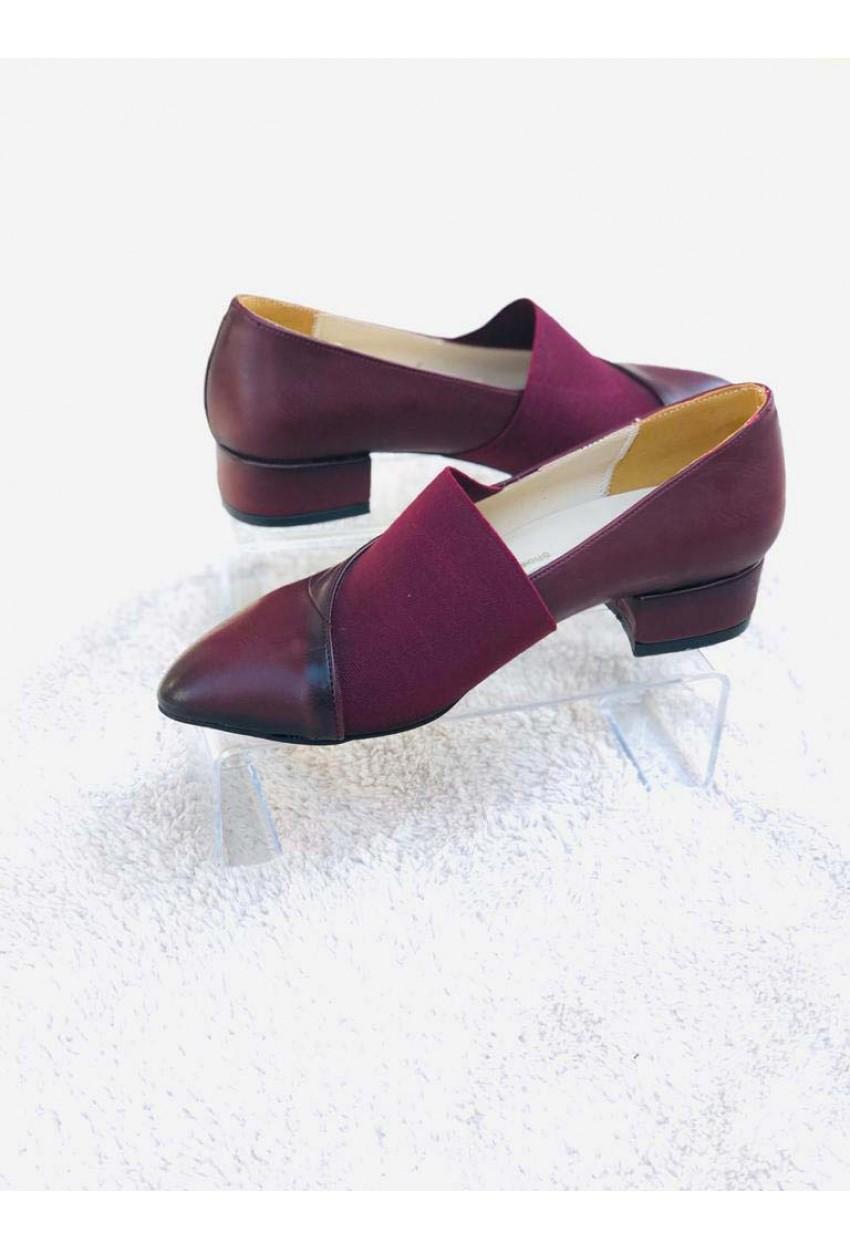 Caliente Topuklu Ayakkabı BORDO