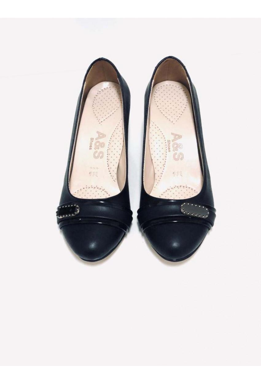 Bayan Günlük Ayakkabı - CİLT SİYAH