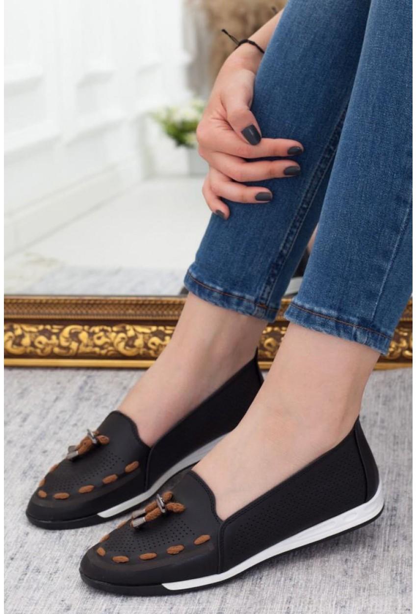 5858 bayan ayakkabı siyah