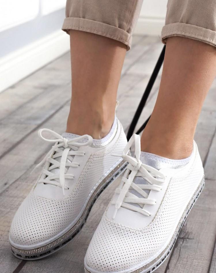 8696 bayan spor ayakkabı beyaz