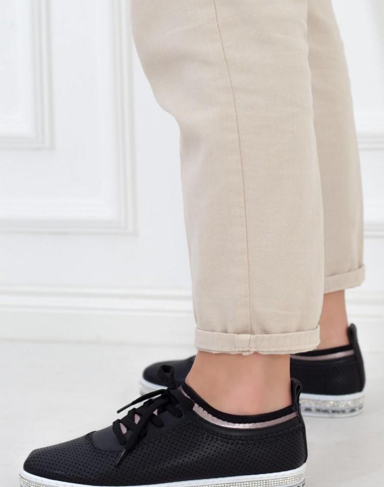 8696 bayan spor ayakkabı siyah