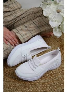 Doktor Tavsiyeli Ortopedik Ayakkabı Beyaz