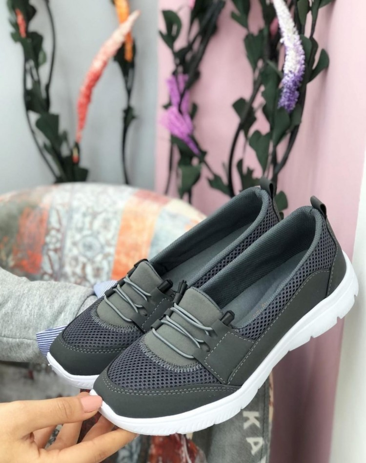 Doktor Tavsiyeli Ortopedik Ayakkabı Gri
