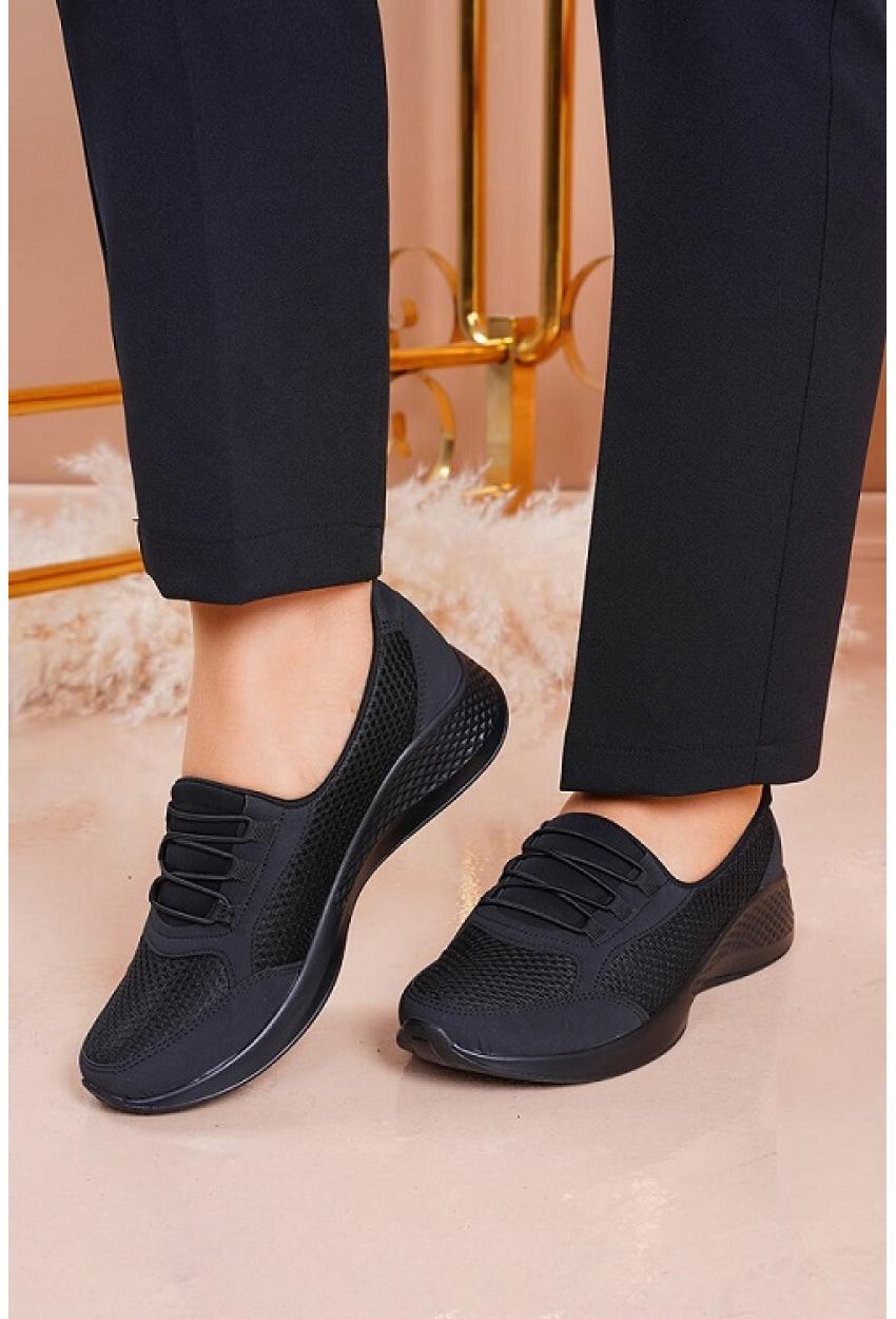 Doktor Tavsiyeli Ortopedik Ayakkabı Siyah